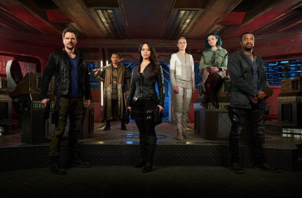 Dark Matter TV show on Syfy: season 3 ratings (canceled or season 4?)