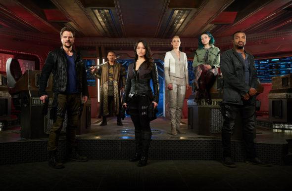 Dark Matter TV show on Syfy: season 3 ratings (canceled or season 4?)