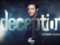 Deception TV show on ABC: (canceled or renewed?)