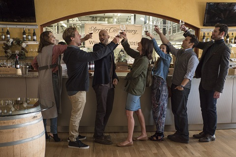 Friends from College Netflix Previews Nick Stollers New Comedy