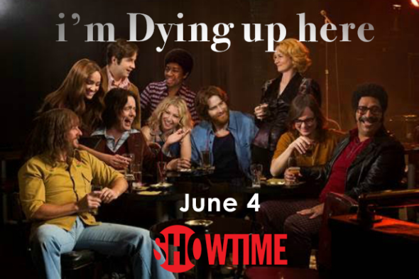 I'm Dying Up Here TV show on Showtime: season 1 ratings (canceled or season 2 renewal?)
