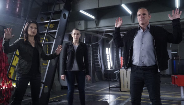 Marvel's Agents of SHIELD TV show on ABC: season 5 (canceled or renewed?)