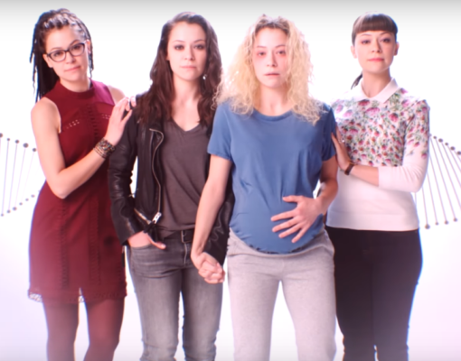 Orphan Black TV show on BBC America