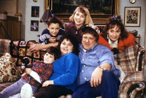 Roseanne TV show on ABC: season 10 renewal (canceled or renewed?)