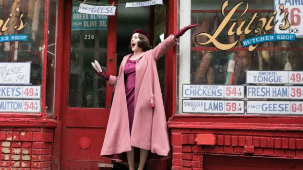 The Marvelous Mrs. Maisel TV show on Amazon: (canceled or renewed?)
