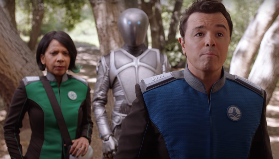 The orville fox releases trailer for seth macfarlane 39 s for Farcical characters
