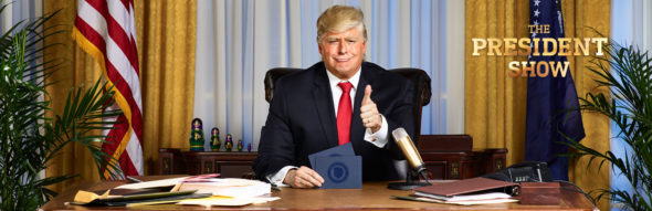 Comedy Central orders more episodes of The President Show on Comedy Central: season 1 (canceled or renewed?)