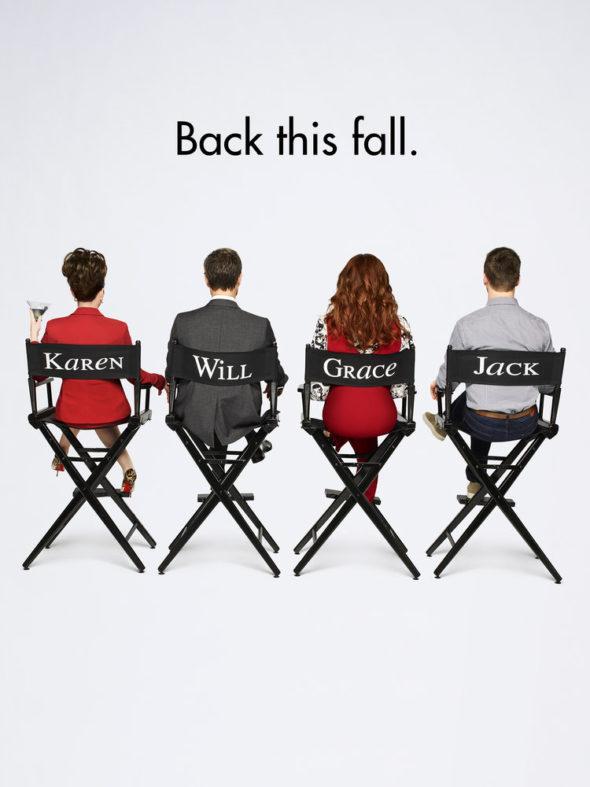 Will & Grace TV show on NBC: Season 9 key art (canceled or renewed?)