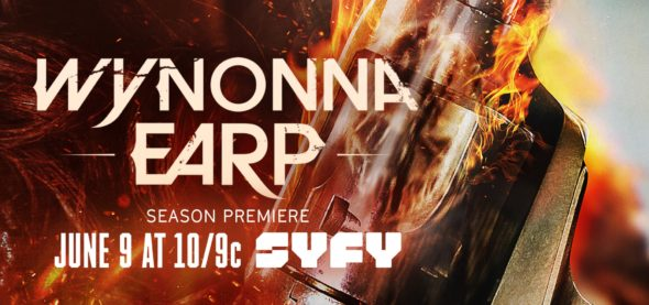 Wynonna Earp TV show on Syfy: season 2 ratings (canceled or renewed?)