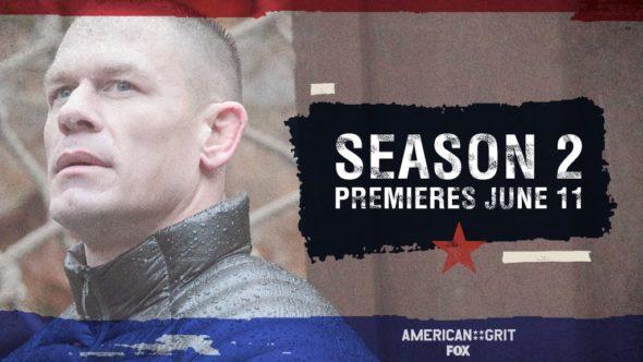 American Grit TV show on FOX: season 2 ratings (canceled or season 3 renewal?)