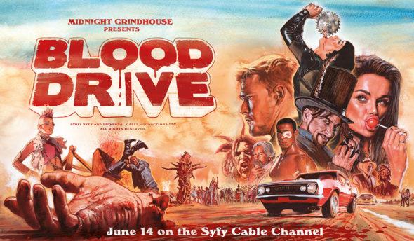 Blood Drive TV show on Syfy: season 1 ratings (canceled or season 2?)