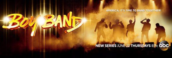 Boy Band TV Show on ABC: Season 1 Ratings (canceled or season 2?)