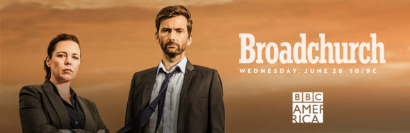 Broadchurch TV show on BBC America: season 3 ratings (canceled or season 4?)