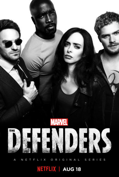 Marvel's The Defenders TV show on Netflix: season 1 (canceled or renewed?)