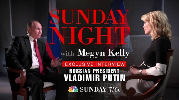 Sunday Night with Megan Kelly TV Show: canceled or renewed?