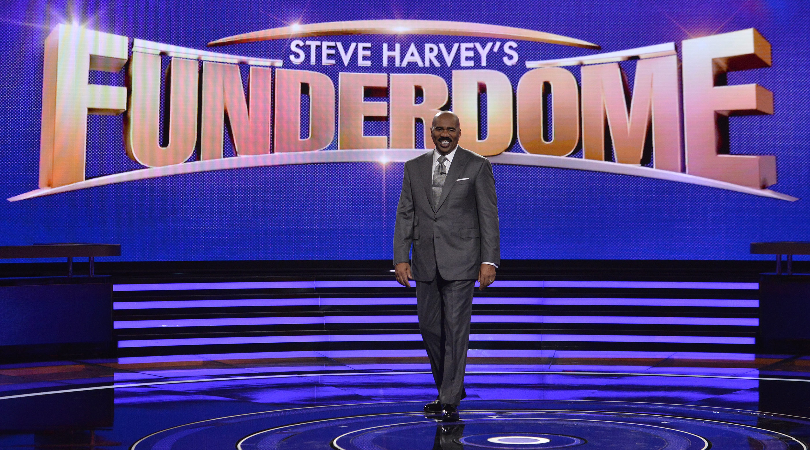 steve harvey 39 s funderdome tv show on abc cancelled or renewed canceled tv shows tv series. Black Bedroom Furniture Sets. Home Design Ideas