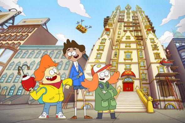 Welcome to the Wayne TV show on Nickelodeon: season 1 (canceled or renewed?)
