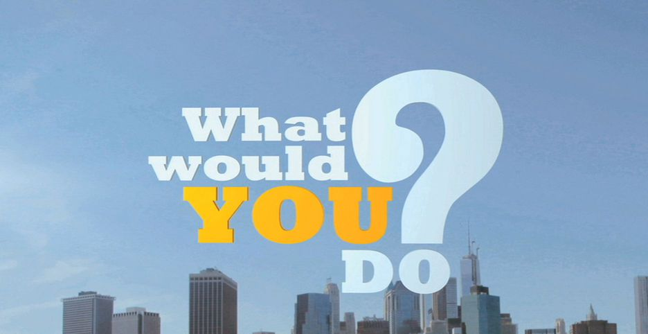 What Would You Do? TV Show on ABC (Cancelled or Renewed ...