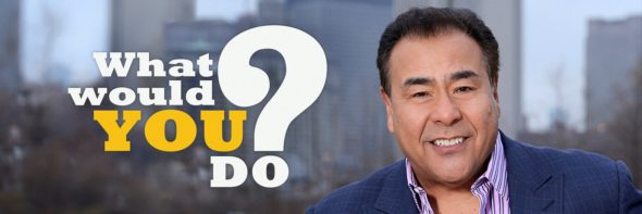 What Would You Do TV show on ABC: ratings (canceled or renewed for 2018?)