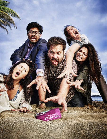 Wrecked TV show on TBS: season 2 premiere (canceled or renewed?)