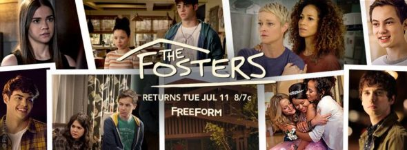 The Fosters TV show on Freeform: season 5 ratings (canceled or season 6 renewal?)