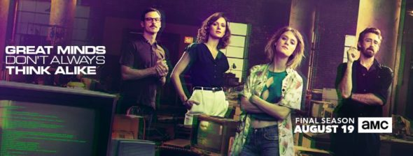 Halt and Catch Fire TV show on AMC: season 4 ratings (ending, no season 5)