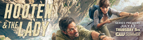 Hooten & The Lady TV show on The CW: season 1 ratings (canceled or season 2 renewal?)