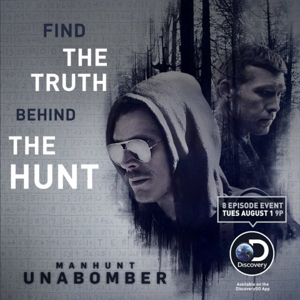 Manhunt: Unabomber TV show on Discovery: canceled or season 2 release date?: Manhunt canceled or renewed?