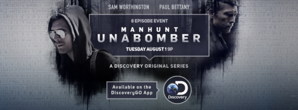 Manhunt: Unabomber TV show on Discovery: season 1 ratings (canceled or renewed?)