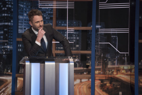 Ending: @midnight with Chris Hardwick TV show on Comedy Central: canceled no season five