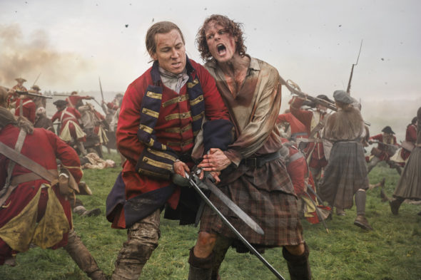 Outlander TV show on Starz: season 3 (canceled or renewed?)