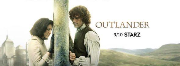 Outlander TV show on Starz: season 3 ratings (canceled or season 4 renewal?)