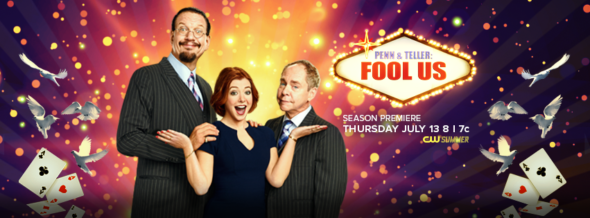 Penn & Teller: Fool Us TV show on The CW: season 4 ratings (canceled or season 5 renewal?)