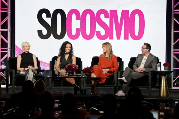 So Cosmo TV show on E!: canceled, no season 2