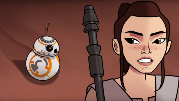 star wars forces of destiny first episode released online by