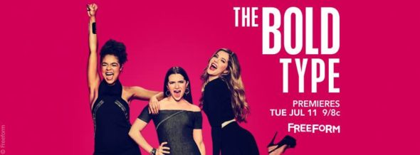 The Bold Type TV show on Freeform: season 1 ratings (canceled or season 2 renewal?)