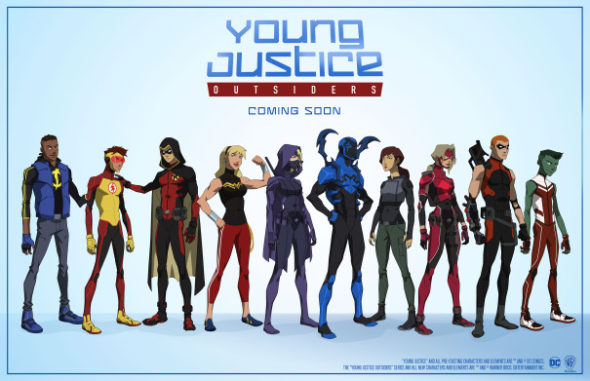 Young Justice: Outsiders TV show: (canceled or renewed?)