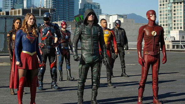 Arrow, Supergirl, The Flash, Legends of Tomorrow TV shows on The CW