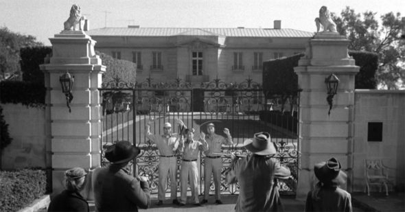 The beverly hillbillies the clampett mansion goes up for sale canceled tv shows tv series for Beverly hillbillies swimming pool