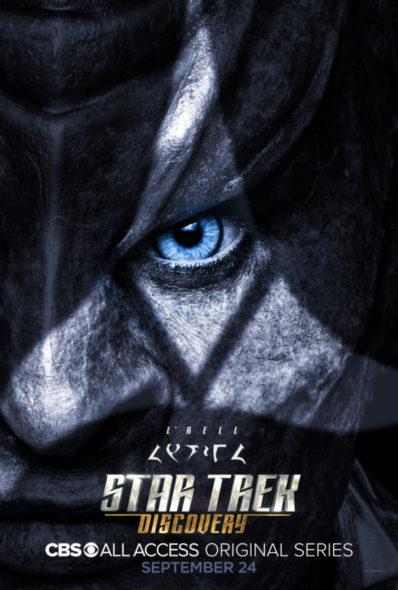 Star Trek: Discovery TV show on CBS All Access: season 1 key art (canceled or renewed?)