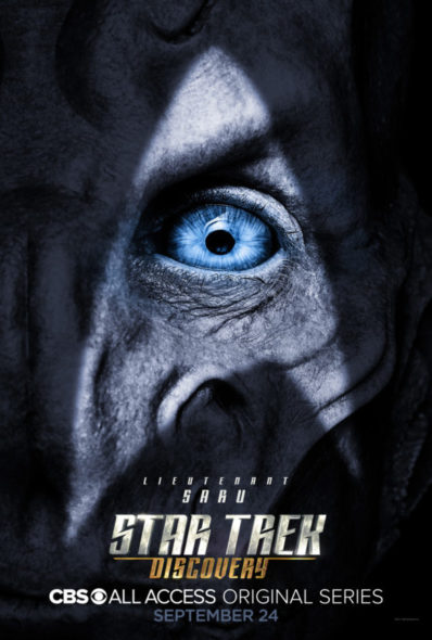 Star Trek: Discovery TV show on CBS All Access: season 1 key art (canceled or renewed?)