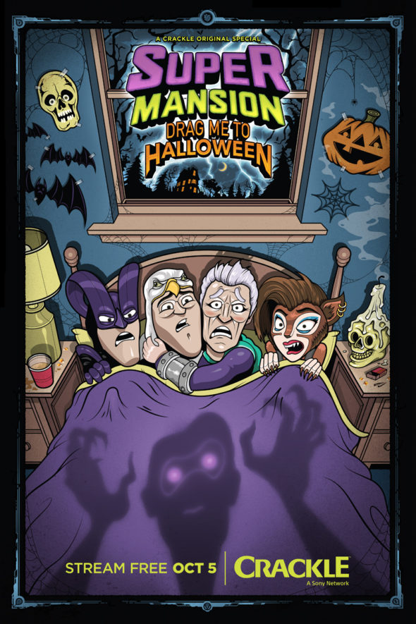 SuperMansion TV Show: canceled or renewed?