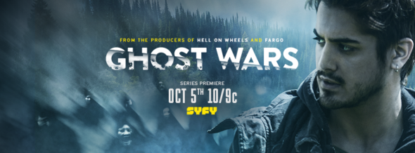 Ghost Wars TV show on Syfy: season 1 ratings (cancel or renew for season 2?)