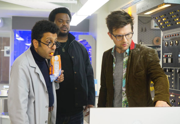 Ghosted TV show on FOX: season 1 viewer voting episode ratings (cancel or renew season 2)