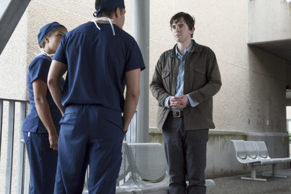 The television vulture is watching The Good Doctor TV show on ABC: canceled or season 2? (release date?)