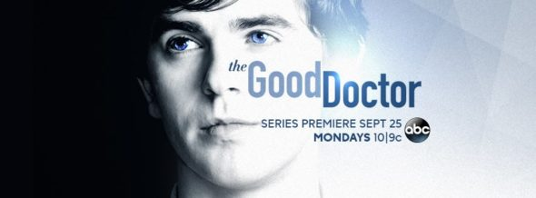 The Good Doctor TV show on ABC: season 1 ratings (canceled or season 2 renewal?)