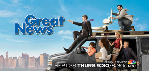 Great News TV show on NBC: ratings cancel or season 3?)