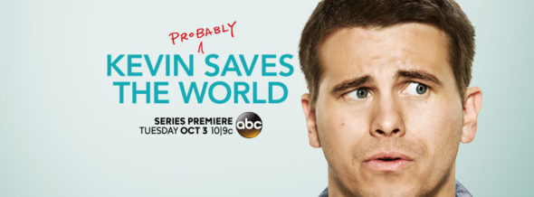 Kevin (Probably) Saves the World TV show on ABC: season 1 ratings (cancel renew season 2?)