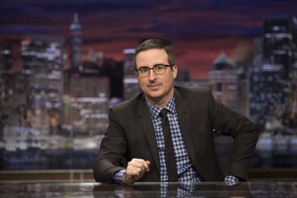 Last Week Tonight with John Oliver TV show on HBO: renewed for season 5, season 6, season 7; renewed through 2020 (canceled or renewed?)