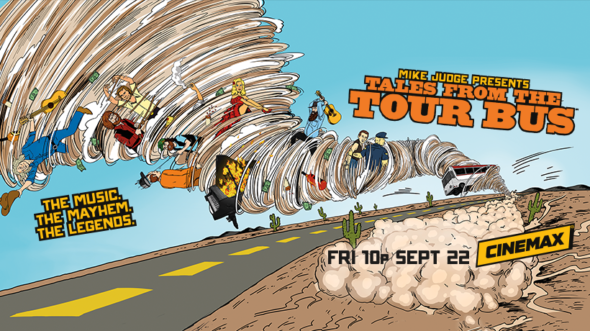 Mike Judge Presents: Tales from the Tour Bus TV show on Cinemax: canceled or renewed?